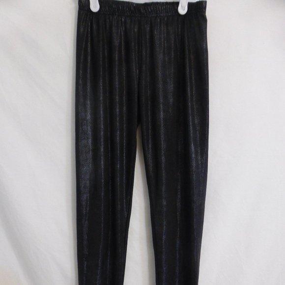 SWS STREETWEAR SOCIETY, black leggings, BNWOT